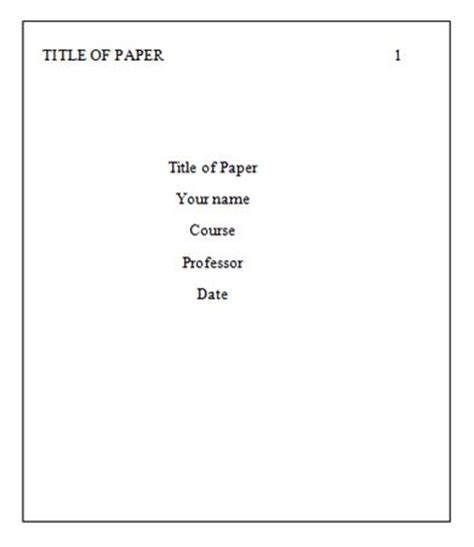 How to Format a Thesis to APA Guidelines Thesis